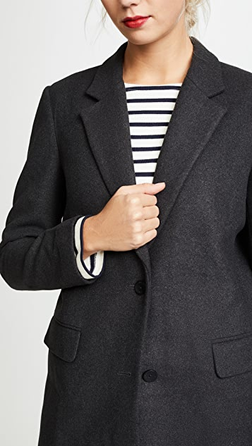 James Jeans Elongated Boyfriend Blazer
