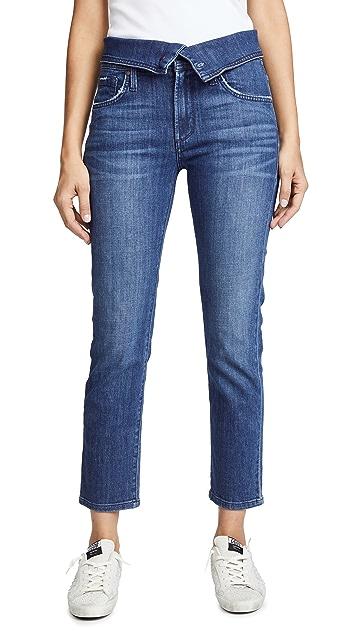 James Jeans Folie Fold Over Jeans