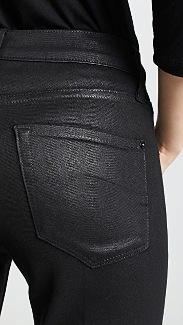 James Jeans Джинсы Calvin с покрытием и высокой посадкой