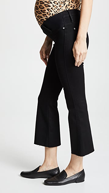 James Jeans Kalista Maternity Cropped Flare Jeans