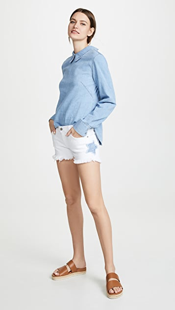 James Jeans Baggy Beau Boyfriend Shorts