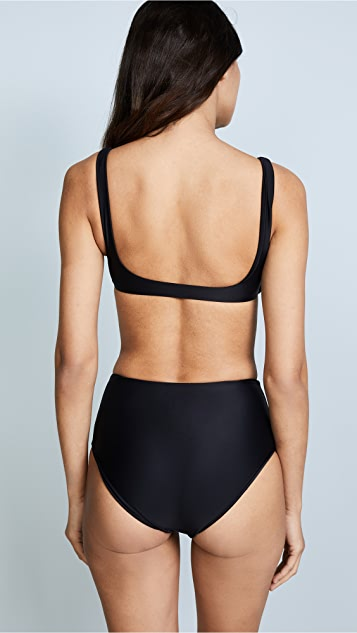JADE Swim Rounded Edges Top