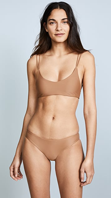 JADE Swim Duality Top - Mocha
