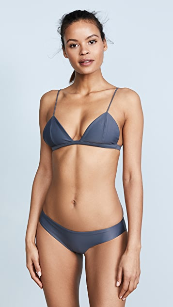 JADE Swim Perfect Match Triangle Bikini Top