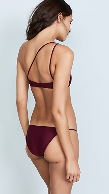 JADE Swim Apex One Shoulder Top