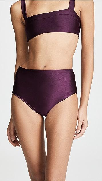 JADE Swim Bound Bikini Bottoms - Quartz