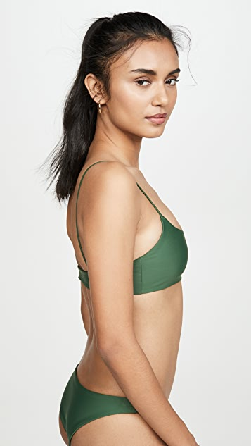 JADE Swim Muse Scoop Bikini Top