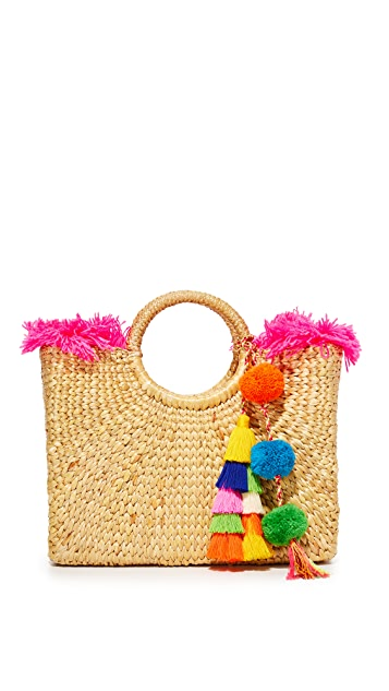 JADEtribe Small Square Basket Tote