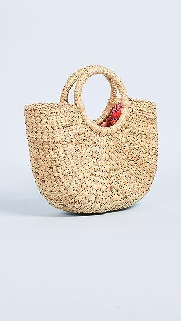 JADEtribe Basket Mini Tassel Bag