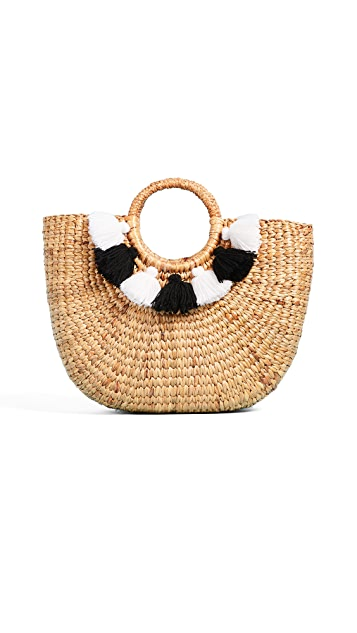 JADEtribe Basket Small Tassel