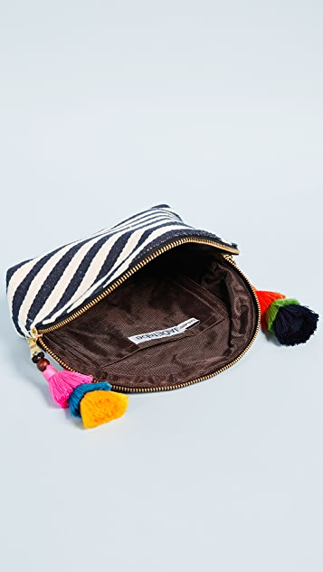 JADEtribe Valerie Double Tassle Cosmetic Case