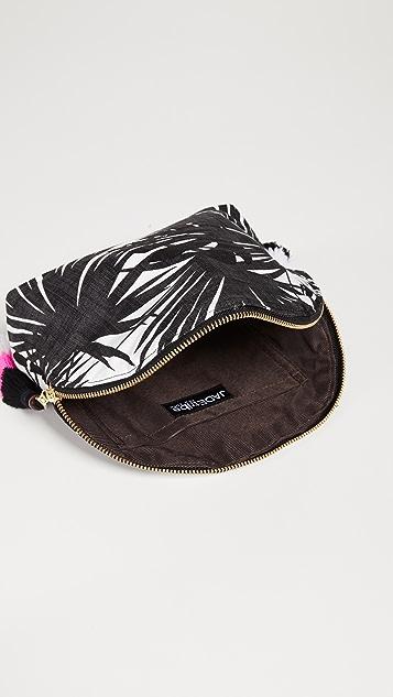 JADEtribe Aloha Tassel Cosmetic Pouch