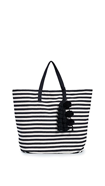 JADEtribe Valerie Bucket Beach Bag