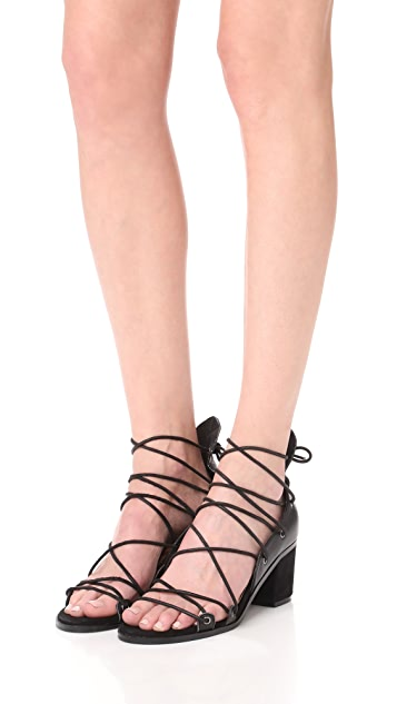 JAGGAR Holdtight Block Heel Sandals