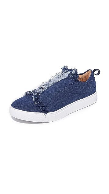 JAGGAR Fray Slip On Sneakers