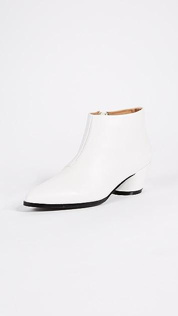 JAGGAR Angular Ankle  Boots