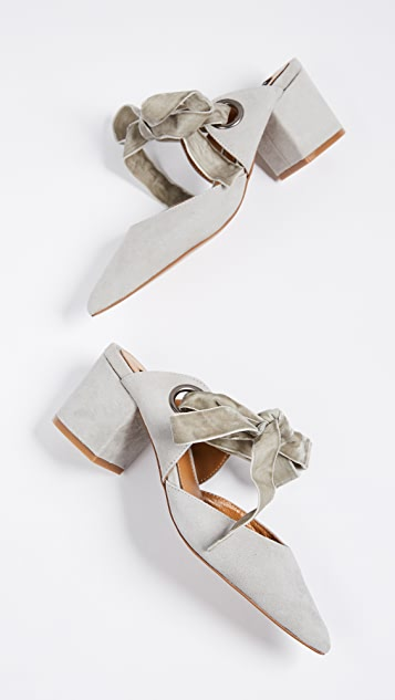 JAGGAR Block Heel Pumps