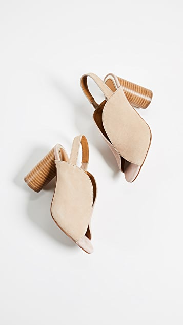 JAGGAR Got Your Back Block Heel Sandals
