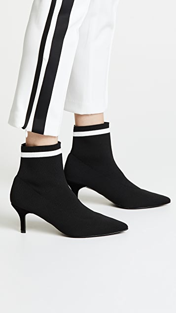JAGGAR Textile Knit Booties
