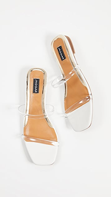 JAGGAR Double Strap Sandals