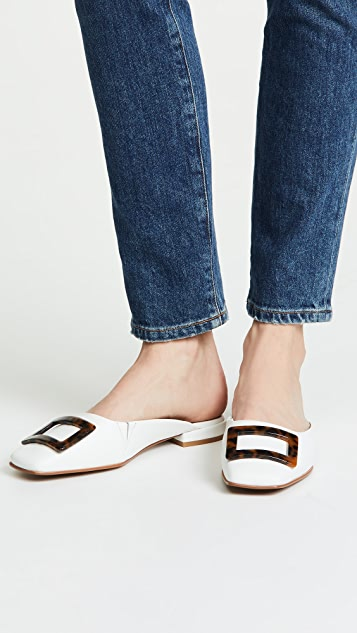JAGGAR Crown Leather Mules