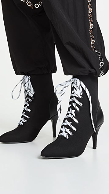 JAGGAR Fasten Lace Up Boots