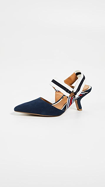 JAGGAR Active Slingback Pumps