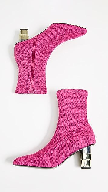 JAGGAR Knit Sock Booties