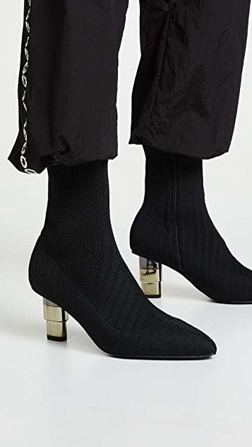 JAGGAR Knit Sock Booties