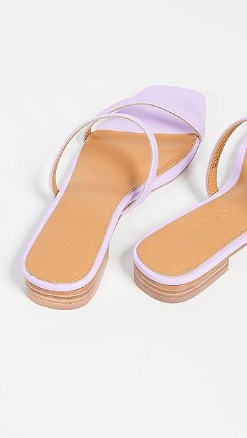 JAGGAR Обувь на плоской подошве с двумя ремешками Sprung
