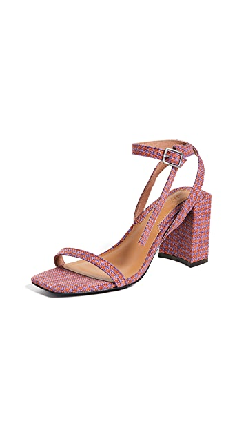 JAGGAR Essential Houndstooth Sandals
