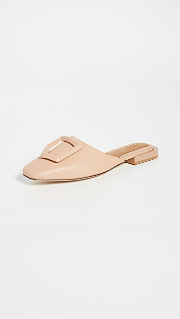 JAGGAR Ornament Leather Mules