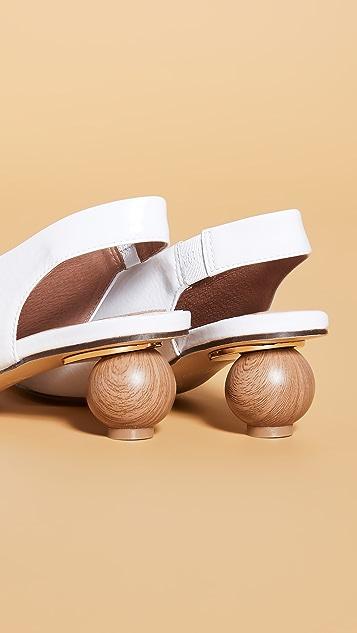 JAGGAR Spheric 尖头浅口鞋