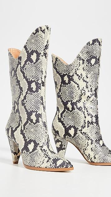 Jaggar Boots Pinnacle Snake Boots