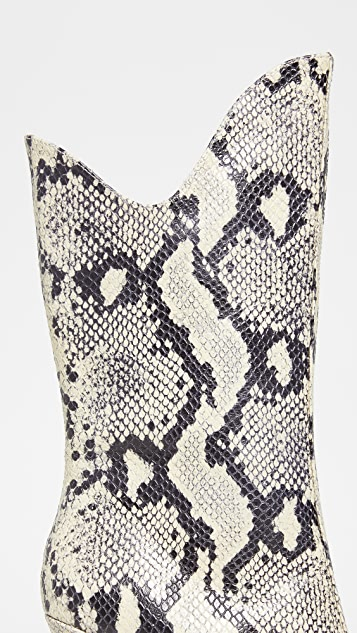 JAGGAR Pinnacle 蛇纹靴子