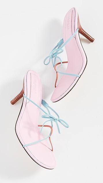 JAGGAR 系带凉鞋