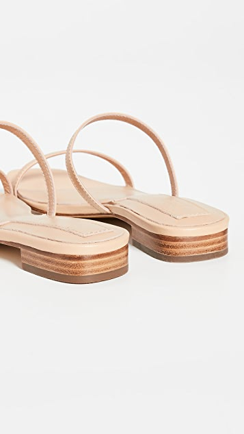 JAGGAR Sprung Double Strap Flats