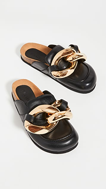 JW Anderson 链条穆勒鞋