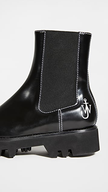 JW Anderson 切尔西靴子