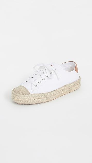 JW Anderson 织底布面运动鞋