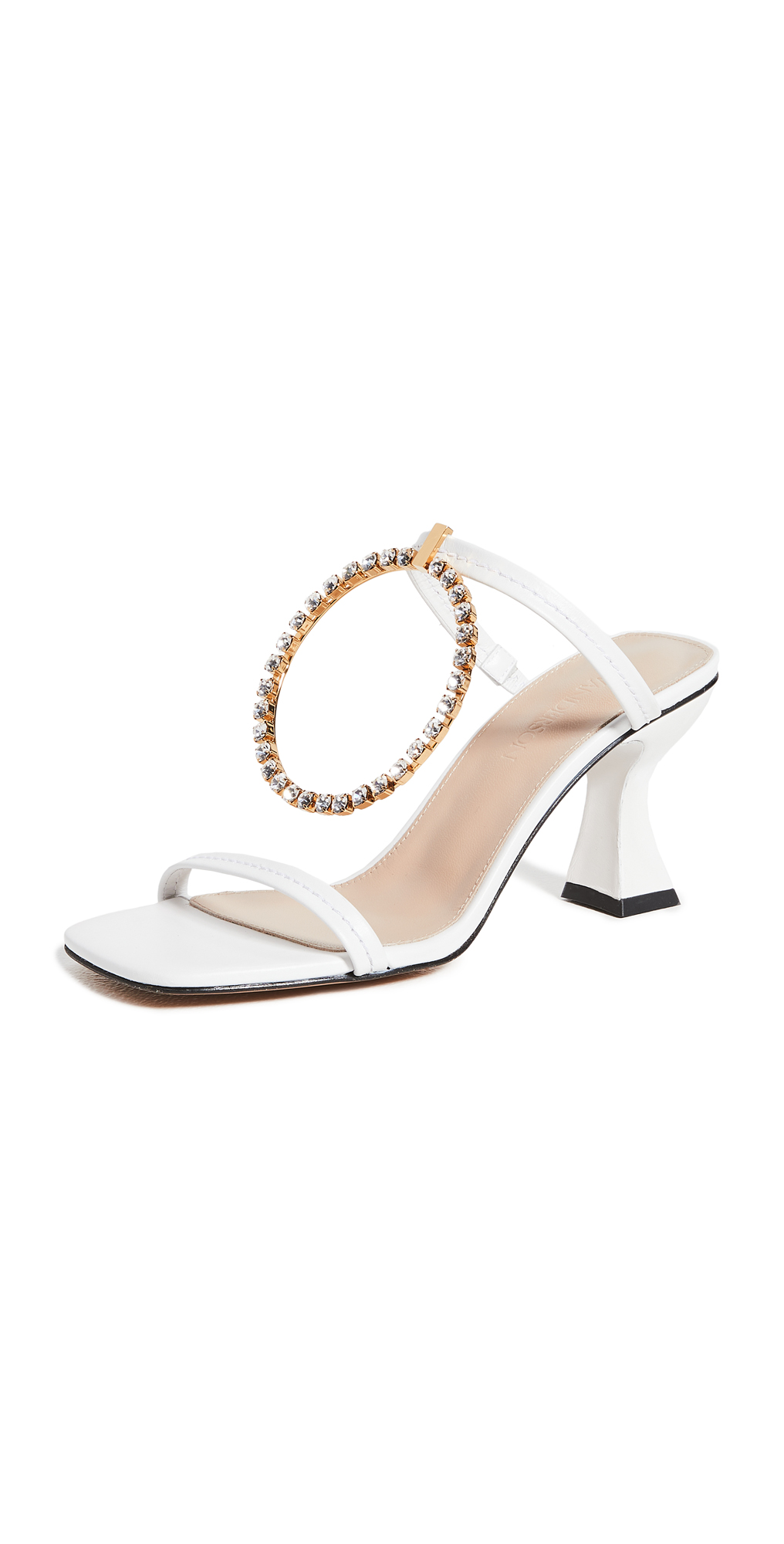 JW Anderson Crystal Buckle Sandals