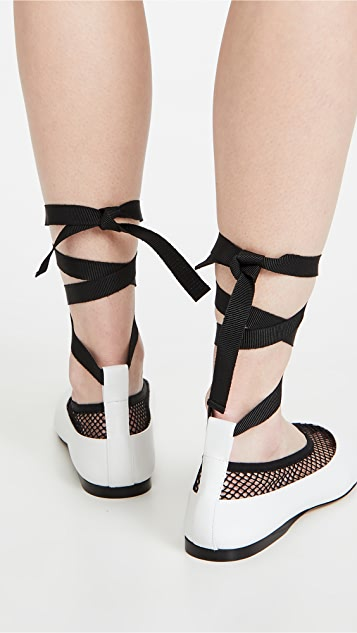 JW Anderson Mesh Ballerina Flats