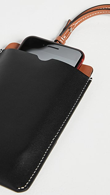 JW Anderson Cardholder Phone Pouch with Strap