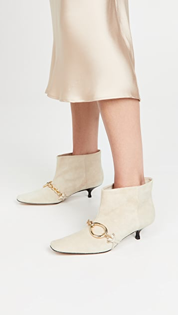 JW Anderson Kitten Chain Boots