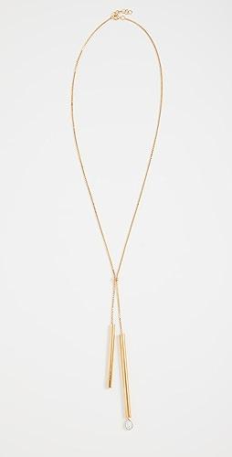 JW Anderson - Tubular Crystal Necklace