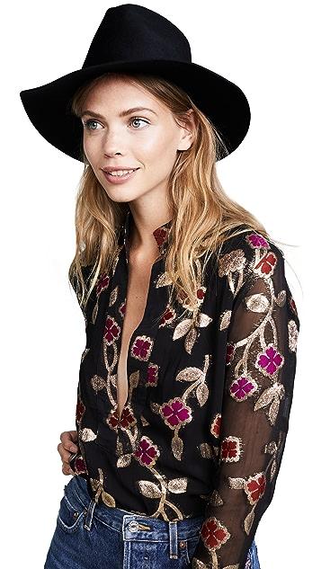 Janessa Leone Sean Fedora Hat
