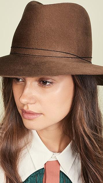 Janessa Leone Billie Fedora Hat
