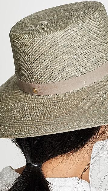 Janessa Leone Rena Boater Hat