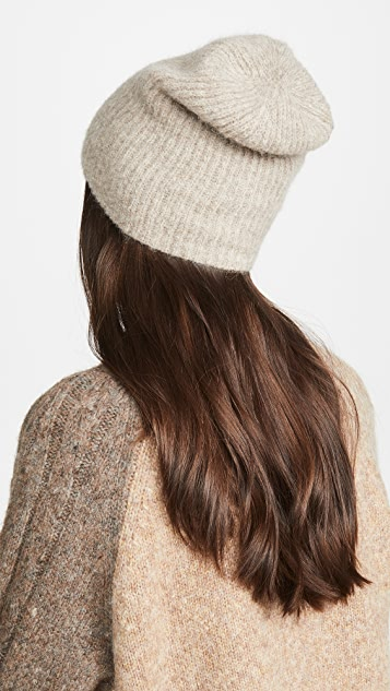 Janessa Leone 羊驼毛 Piper 针织帽