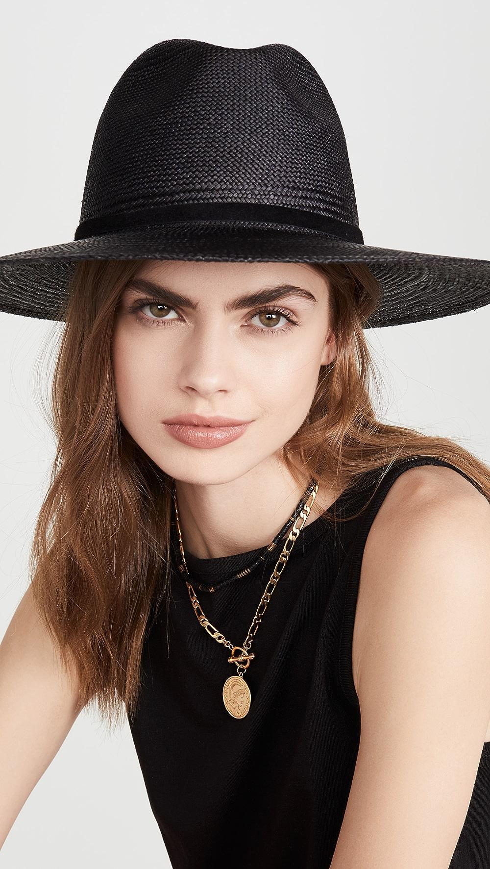 100% True Janessa Leone - Selma Hat Fashionable Patterns